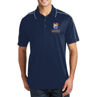 Sport-Tek - Micropique Sport-Wick Piped Polo - Embroidered Logo Thumbnail